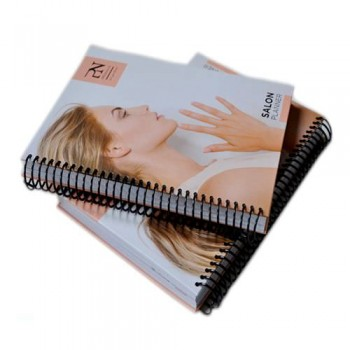 Spiral Bound Salon catalogs